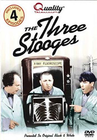 The Three Stooges (Quality Television) DVD Movie