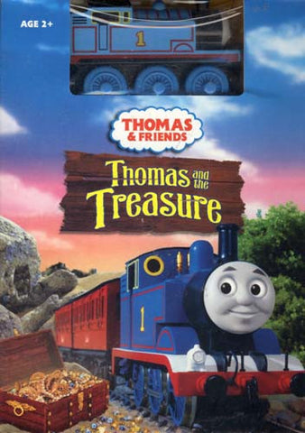 Thomas the Friends - Thomas and the Treasure (With Wooden Train Toy) (Boxset) DVD Movie