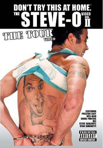 Don't Try This At Home - The Steve-O Video Vol. 2 DVD Movie