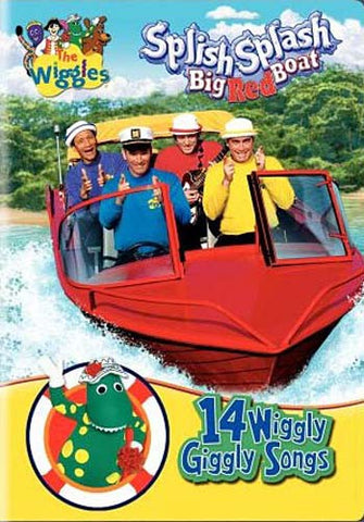 The Wiggles - Splish Splash Big Red Boat DVD Movie