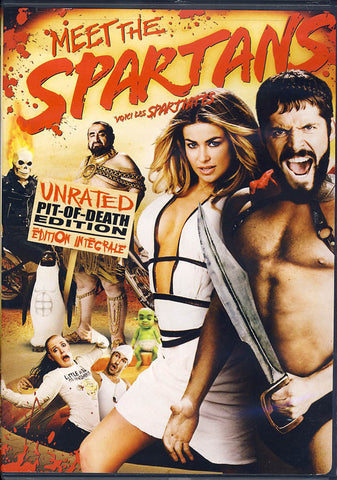 Meet the Spartans (UnratedPit of DeathEdition)(bilingual) DVD Movie
