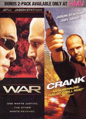 War / Crank - Double Feature (2 Pack) (Boxset) DVD Movie