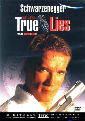 True Lies (Vrai Mensonge) DVD Movie