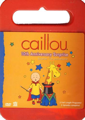Caillou - 10Th Anniversary Surprise (With CD Caillou Sing Along) (Bilingual) DVD Movie