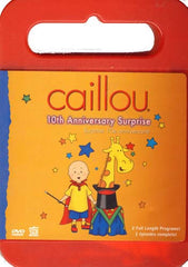 Caillou - 10Th Anniversary Surprise (With CD Caillou Sing Along) (Bilingual)