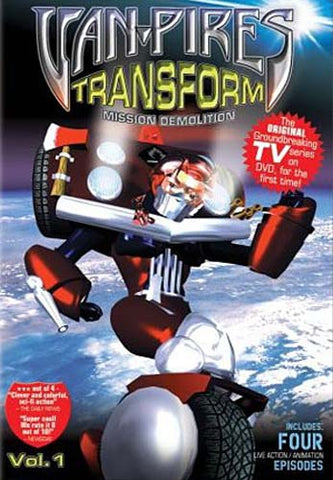 Van-Pires Transform: Mission Demolition, Vol. 1 DVD Movie