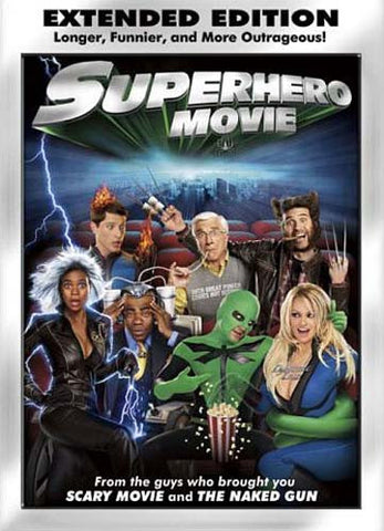 Superhero Movie (Extended Edition) (Bilingual) DVD Movie