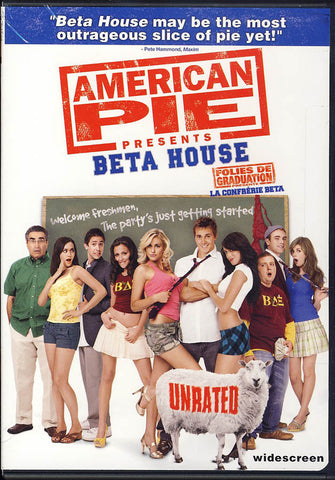 American Pie Presents - Beta House (Unrated) (Widescreen) (Bilingual) DVD Movie