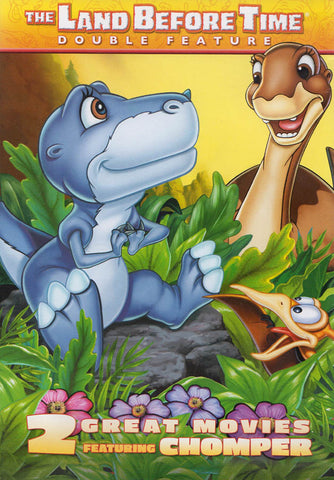 The Land Before Time - Chomper Double Feature ( The Great Valley Adventure/The Mysterious Island) DVD Movie