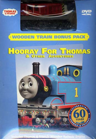Thomas And Friends - Hooray for Thomas and Other Stories (With Wooden Train Toy) (Boxset) DVD Movie
