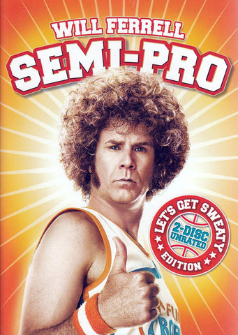 Semi-Pro - Unrated (Two-Disc Let s Get Sweaty Edition) (Bilingual) DVD Movie