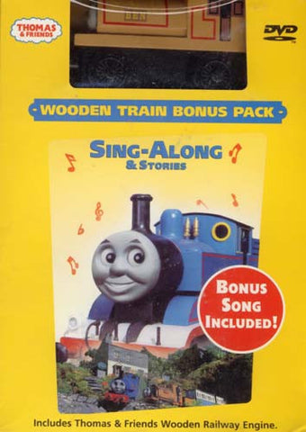 Thomas and Friends - Sing-Along and Stories (With Wooden Train toy) (Boxset) DVD Movie