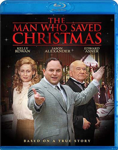 The Man Who Saved Christmas (Blu-ray) BLU-RAY Movie