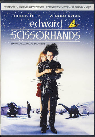 Edward Scissorhands (Widescreen Anniversary Edition)(Bilingual) DVD Movie