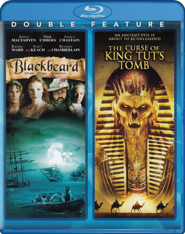 Blackbeard / The Curse of King Tut s Tomb (Double Feature) (Blu-ray) BLU-RAY Movie