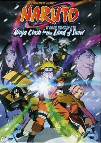 Naruto the Movie - Ninja Clash in the Land of Snow DVD Movie