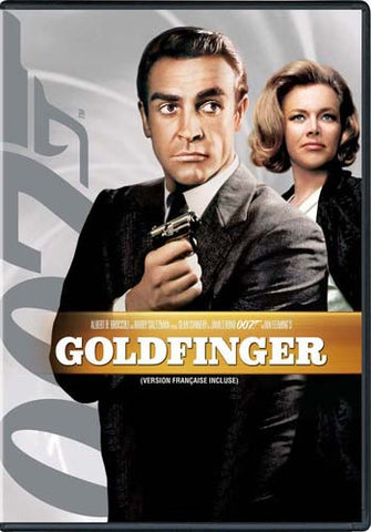 Goldfinger (White Cover) (James Bond) (Bilingual) DVD Movie