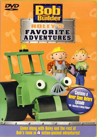 Bob The Builder - Roley's Favorite Adventures DVD Movie