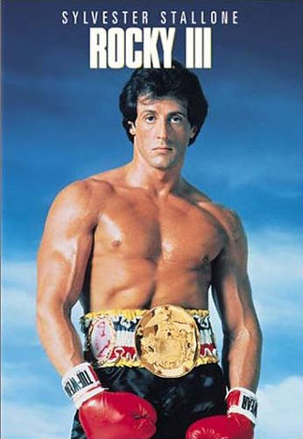 Rocky III (Blue Cover) DVD Movie