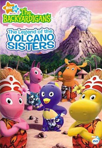 The Backyardigans - The Legend of the Volcano Sisters DVD Movie