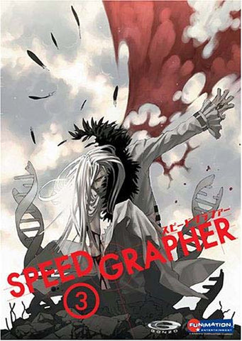 Speed Grapher, Vol. 3 DVD Movie