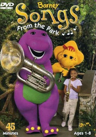 Barney - Songs From The Park DVD Movie