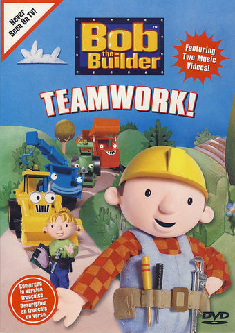 Bob The Builder - Teamwork (Bilingual) DVD Movie