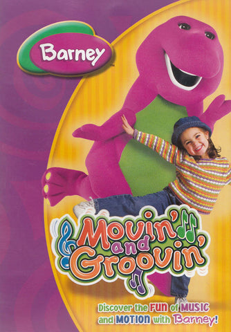 Barney - Movin' and Groovin' DVD Movie