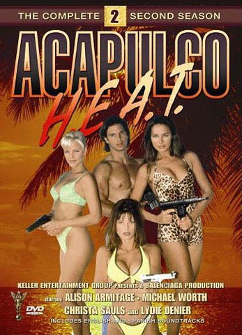 Acapulco H.E.A.T - The Complete Second Season (Boxset) DVD Movie