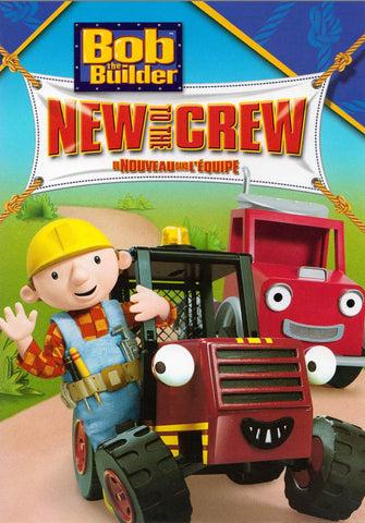 Bob The Builder - New to the Crew (Bilingual) DVD Movie