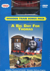 Thomas and Friends - Big Day for Thomas (With Wooden Toy Train) (Boxset)