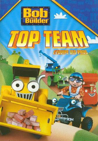 Bob The Builder - Top Team (Bilingual) DVD Movie