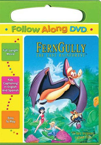FernGully - The Last Rainforest (Follow Along DVD) DVD Movie