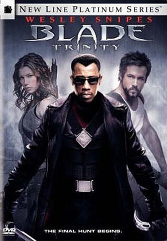 Blade - Trinity (2 Disc Full Screen and Widescreen) DVD Movie