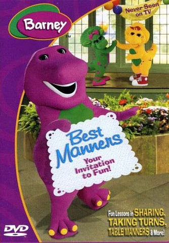 Barney - Best Manners (Your Invitation To Fun) DVD Movie