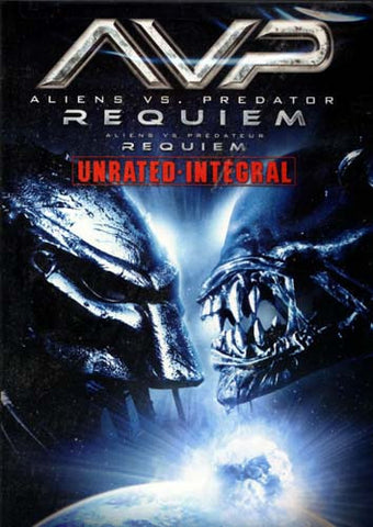 AVP - Aliens vs. Predator - Requiem (Unrated) DVD Movie