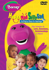 Barney - Happy Mad Silly Sad - Putting A Face To Feelings