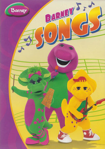 Barney - Barney Songs DVD Movie