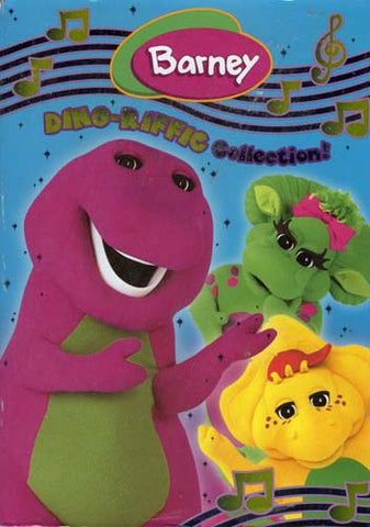 Barney - The Dino-Riffic Collection (Boxset) DVD Movie