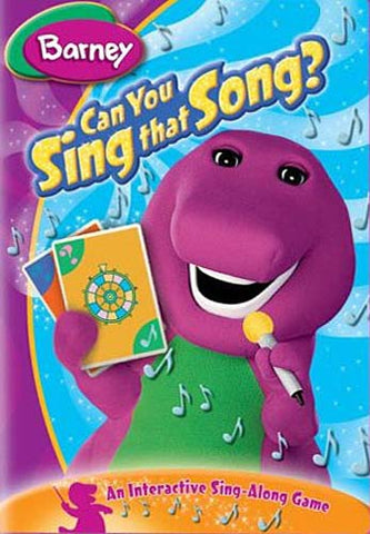 Barney - Can You Sing That Song? DVD Movie