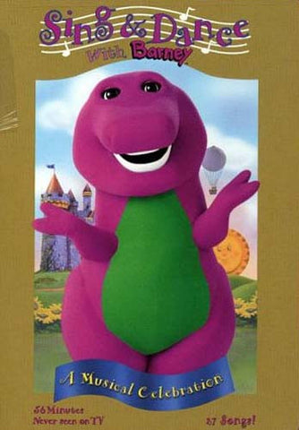 Barney - Sing and Dance with Barney DVD Movie