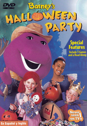 Barney - Barney's Halloween Party DVD Movie