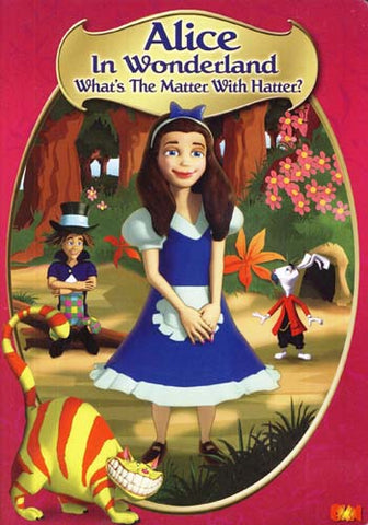 Alice in Wonderland - What's the Matter With Hatter? DVD Movie