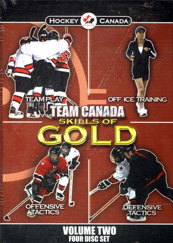 Team Canada: Skills of Gold - Volume 1 (Boxset) DVD Movie