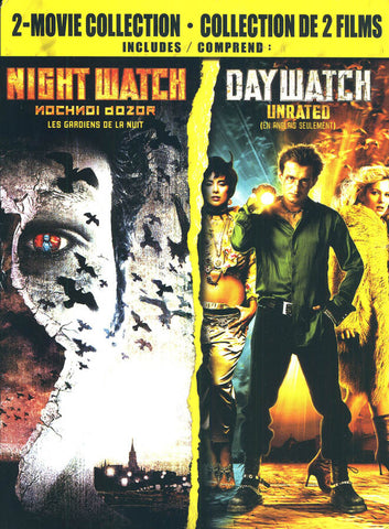 Day Watch / Night Watch (2- Movie Collection) (Bilingual) (Boxset) DVD Movie