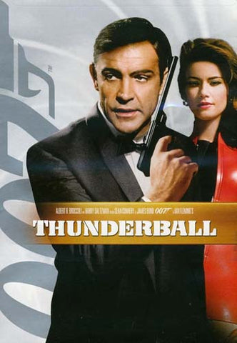 Thunderball (White Cover) (James Bond) DVD Movie