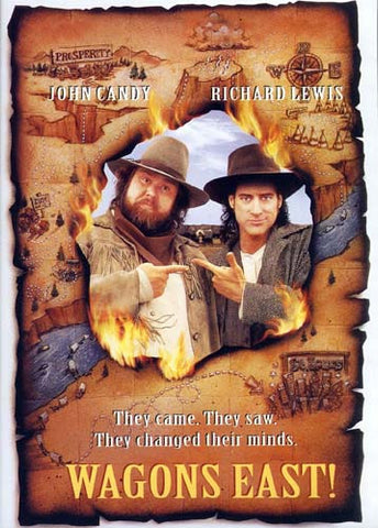 Wagons East! (full Screen) DVD Movie