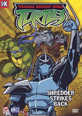 Teenage Mutant Ninja Turtles - Shredder Strikes Back DVD Movie