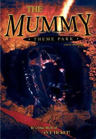 The Mummy Theme Park DVD Movie