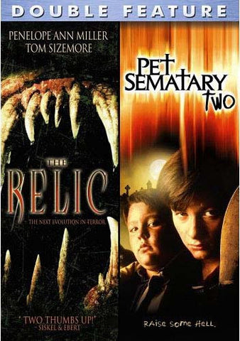 The Relic/Pet Semetary 2 DVD Movie